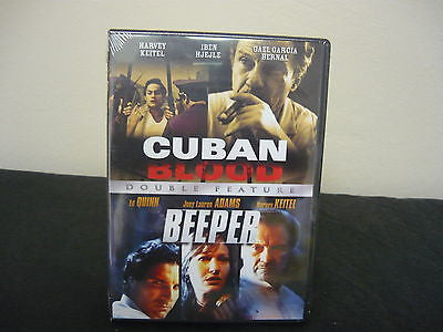 Cuban Blood/ Beeper - Double Feature DVD Brand New (WIDESCREEN) Double Feature