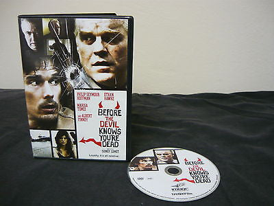 Before the Devil Knows You're Dead DVD 1 Movie Disc (WIDESCREEN) Action Adventure