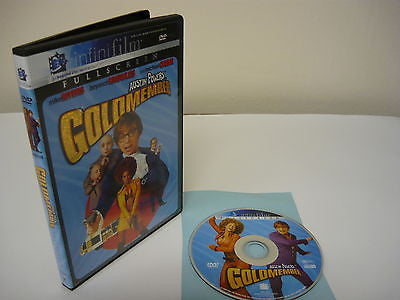 Austin Powers in Goldmember DVD (FULLSCREEN) Comedy Adventure Mike Myers