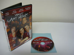 About Last Night.. DVD FULLSCREEN Comedy Action Adventure Romance Movie Rob Lowe