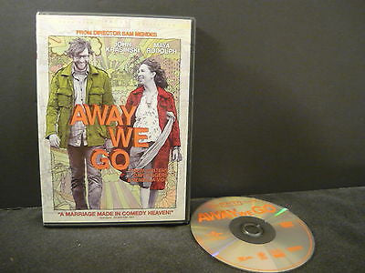Away We Go DVD (WIDESCREEN) Comedy Adventure John Krasinski Maya Rudolph