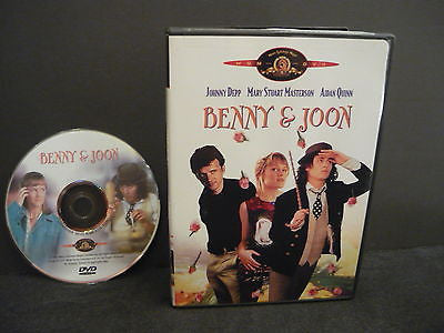 Benny & Joon DVD WIDESCREEN Comedy Action Adventure Movie Johnny Depp