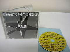 Automatic for the People by R.E.M. (CD) Rock Popular Alternative Music Drive