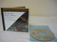 Dinner For Two (CD) Classical Music Includes Music of Rachmaninoff, Chopin, Rave