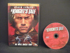 A Knights Tale WIDESCREEN Special Edition Action Adventure Movie Heath Ledger