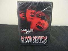 Blood Sisters DVD Brand New!! Horror Suspense Thriller Amy Bertano Phoebe Dollar