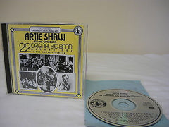 22 Original Big Band Hits by Artie Shaw & His Orchestra CD Jazz Instrument Music