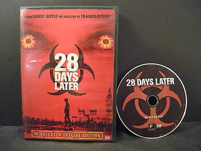 28 Days Later DVD (WIDESCREEN) Horror Suspense Thriller Cillian Murphy