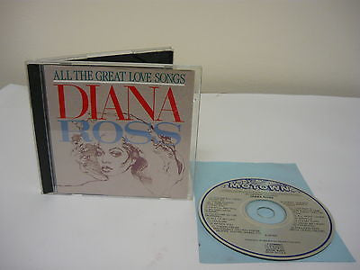 All the Great Love Songs by Diana Ross CD R&B Mowtown Music I'm Still Waiting