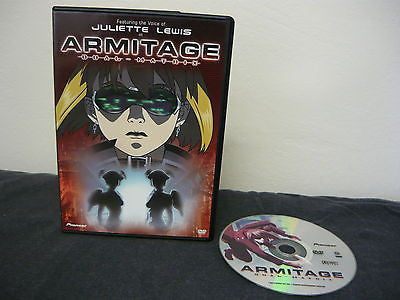Armitage III Dual-Matrix DVD NOT RATED Sci-Fi Fantasy Movie Feature Only Sale