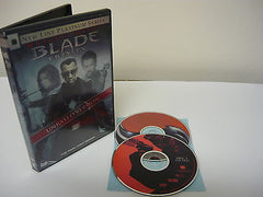 Blade: Trinity DVD WIDESCREEN Unrated 2 Movie Discs Horror Suspense Thriller