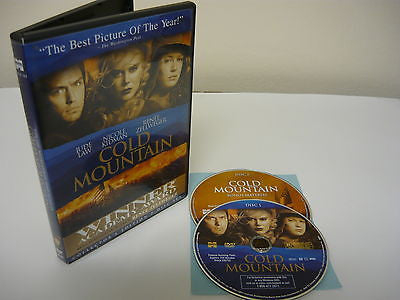 Cold Mountain DVD (WIDESCREEN) 2 Movie Discs Special Edition Action Adventure