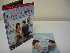 Chasing Liberty DVD (FULLSCREEN) Comedy Action Adventure Romance Mandy Moore Sal