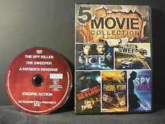 5 Movie Collection: Ice/The Sweeper/A Fathers Revenge/Evasive Action/The Spy ...