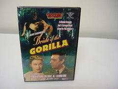 Bride of the Gorilla DVD Brand New!! Black and White Not Rated Horror Suspense