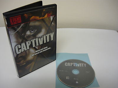 Captivity DVD (WIDESCREEN) Action Adventure Movie Elisha Cuthbert Daniel Giles
