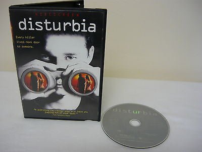 Disturbia DVD (WIDESCREEN) Horror Suspense Thriller Movie Shia LeBeouf David Morse