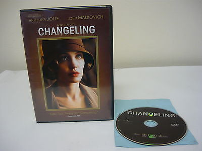 Changeling DVD (WIDESCREEN) Action Adventure Movie Angelina Jolie John Malkovich