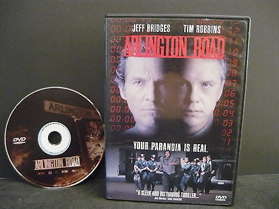 Arlington Road DVD (WIDESCREEN) Drama Movie Tim Robbins Jeff Bridges