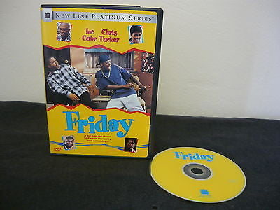 Friday (DVD) Comedy Action Adventure Chris Tucker Ice Ceube Nia Long