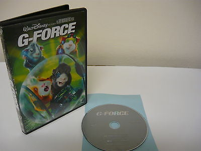 G-Force DVD (WIDESCREEN) Action Adventure Animated Movie Bill Nighy Nicolas Cage
