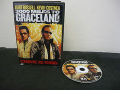3000 Miles to Graceland DVD WIDESCREEN Action Adventure Biography Kevin Costner