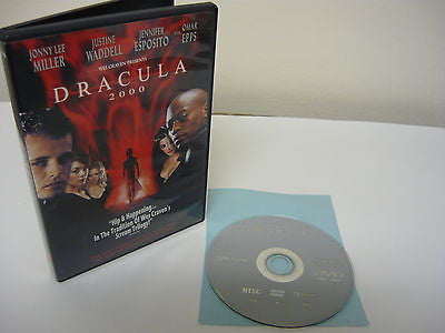 Dracula 2000 DVD (WIDESCREEN) Horror Suspense Johnny Lee Miller Justine Waddell