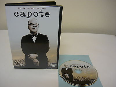 Capote DVD WIDESCREEN Action Adventure Movie Philip Seymour Hoffman Chris Cooper