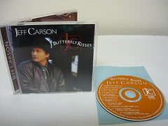 Butterfly Kisses by Jeff Carson (CD) Contemporary Country Music Butterfly Kisses