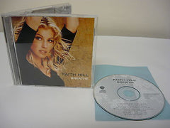 Breathe by Faith Hill CD Contemporary Country What's In It For Me It Will Be Me