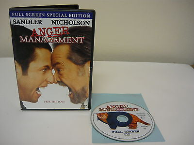 Anger Management DVD FULLSCREEN Special Edition Comedy Adventure Movie