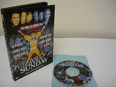 Any Given Sunday DVD WIDESCREEN Special Edition Director's Cut Action Adventure