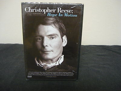 Christopher Reeve - Hope In Motion DVD (WIDESCREEN) For TV Movie Documentary Sale
