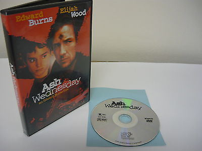 Ash Wednesday DVD WIDESCREEN Action Adventure Movie Edward Burns Elijah Wood