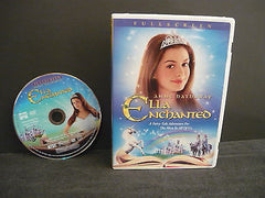Ella Enchanted DVD (FULLSCREEN) Science Fiction Fantasy Anne Hathaway