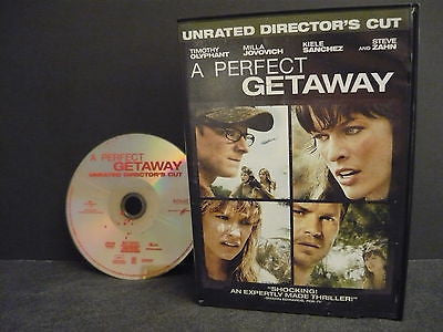 A Perfect Getaway DVD WIDESCREEN Unrated Director's Cut Timothy Olyphant Sale