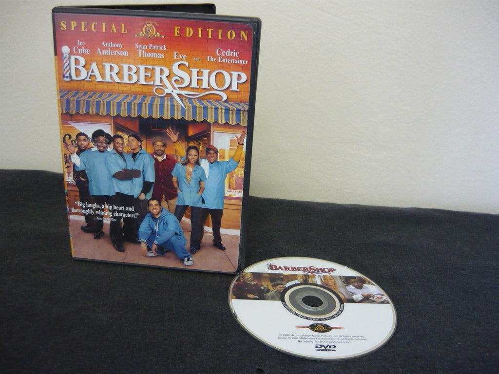 Barbershop DVD WIDESCREEN Special Edition Comedy Action Adventure Ice Cube