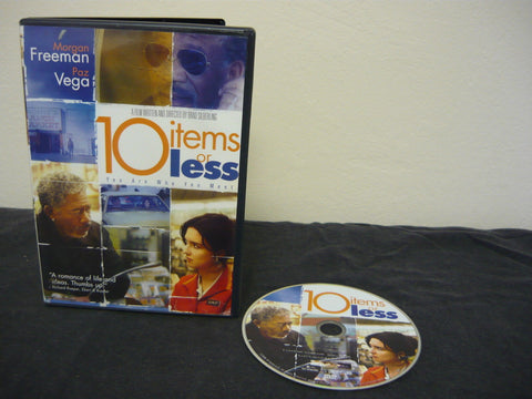 10 Items or Less Drama Morgan Freeman Paz Vega Bobby Cannavale Anne Dudek Sale