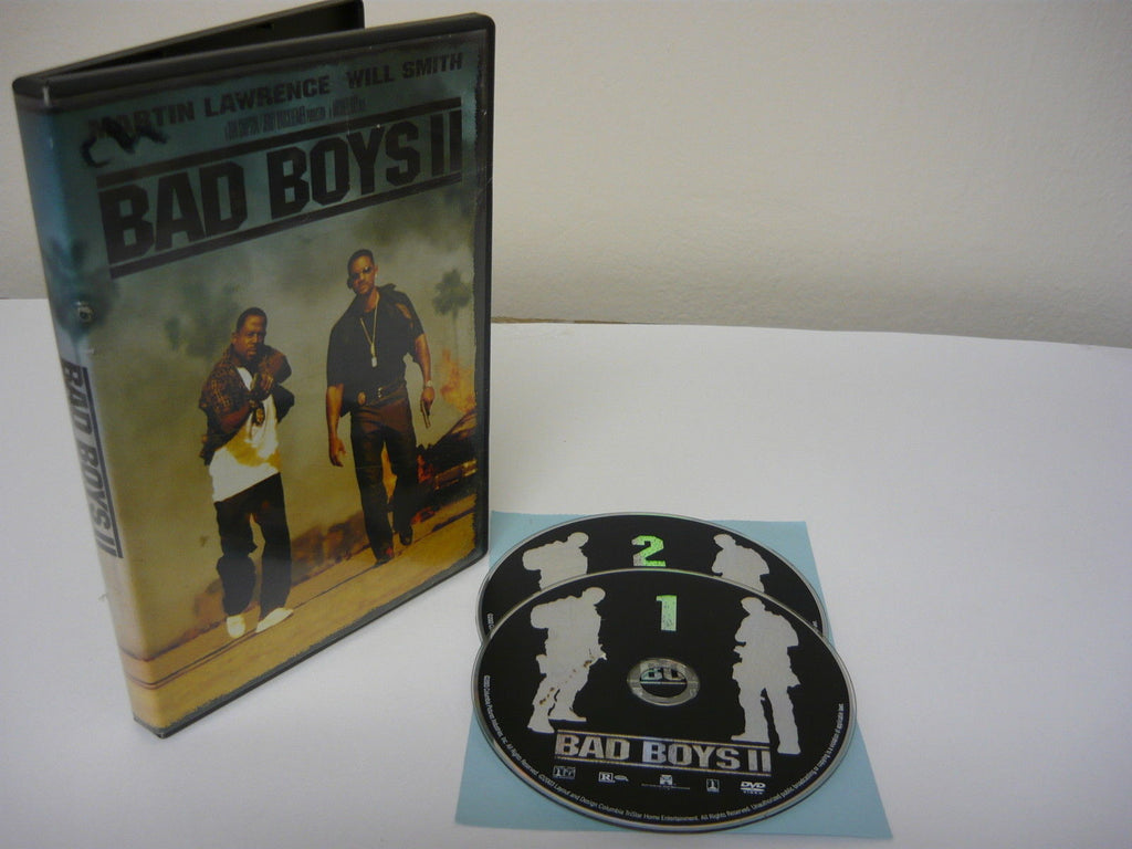 Bad Boys II DVD 2 Movie Discs Action Adventure Movie Martin Lawrence Will Smith