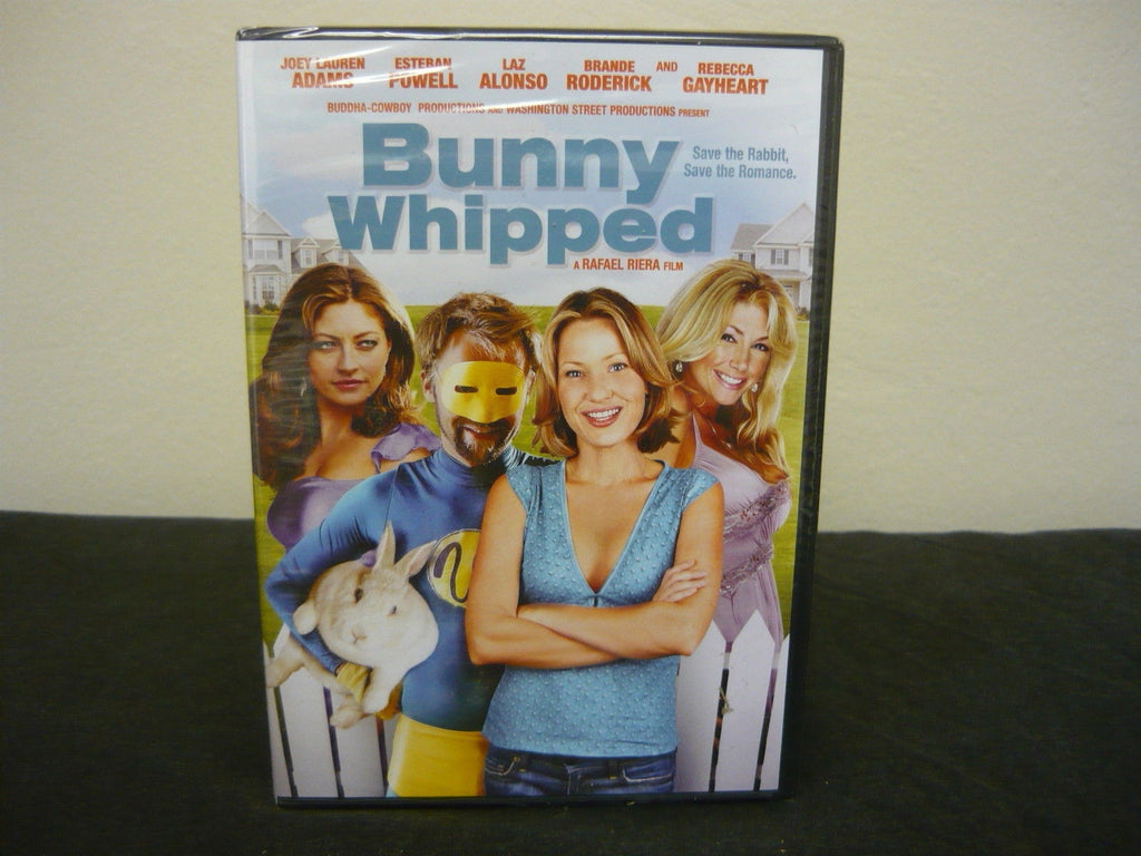 Bunny Whipped DVD Brand New Not Rated (FULLSCREEN) Comedy Adventure