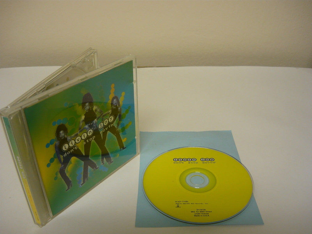 Don't Stop Movin' by Livin' Joy (CD) R&B Dance Done't Stop Movin' Follow the Rul