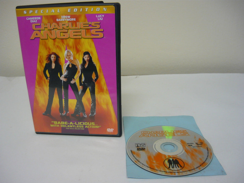 Charlie's Angels DVD WIDESCREEN Special Edition Action Adventure Cameron Diaz