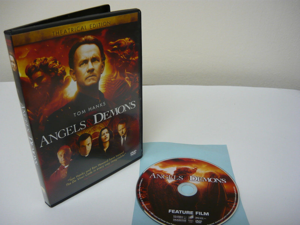 Angels & Demons DVD (WIDESCREEN) Theatrical Edition Action Adventure Tom Hanks