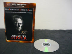 Absolute Power DVD (WIDESCREEN) Clint Eastwood Collection Drama Clint Eastwood