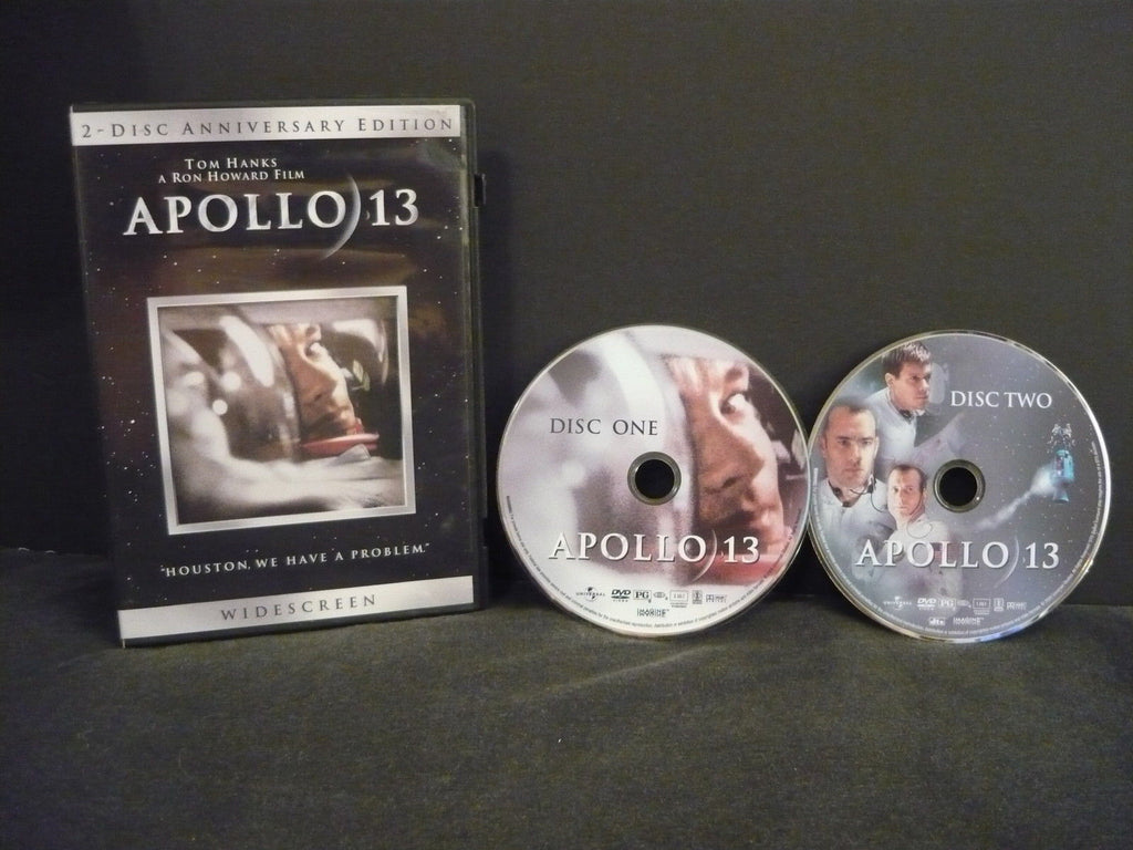 Apollo 13 DVD 2 Movie Discs Anniversary Edition Action Adventure Tom Hanks