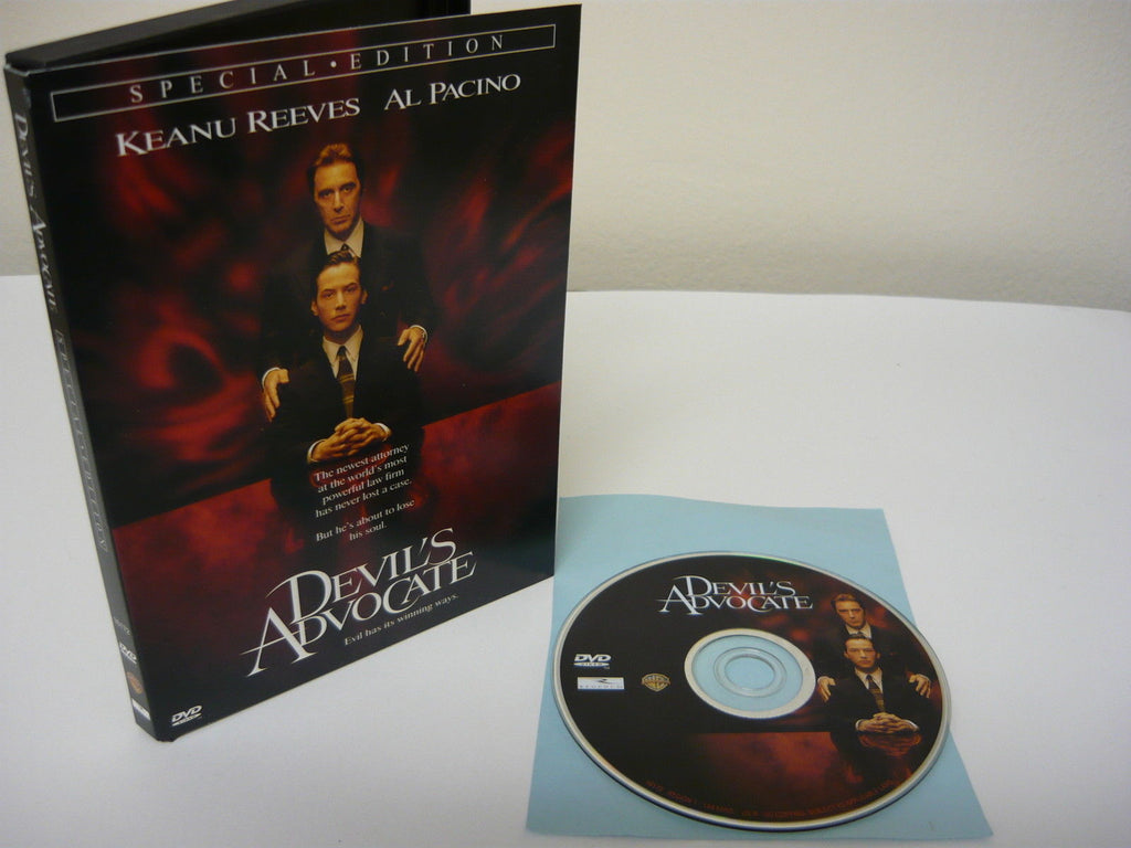 Devil's Advocate DVD (WIDESCREEN) Special Edition Action Adventure Kenau Reeves
