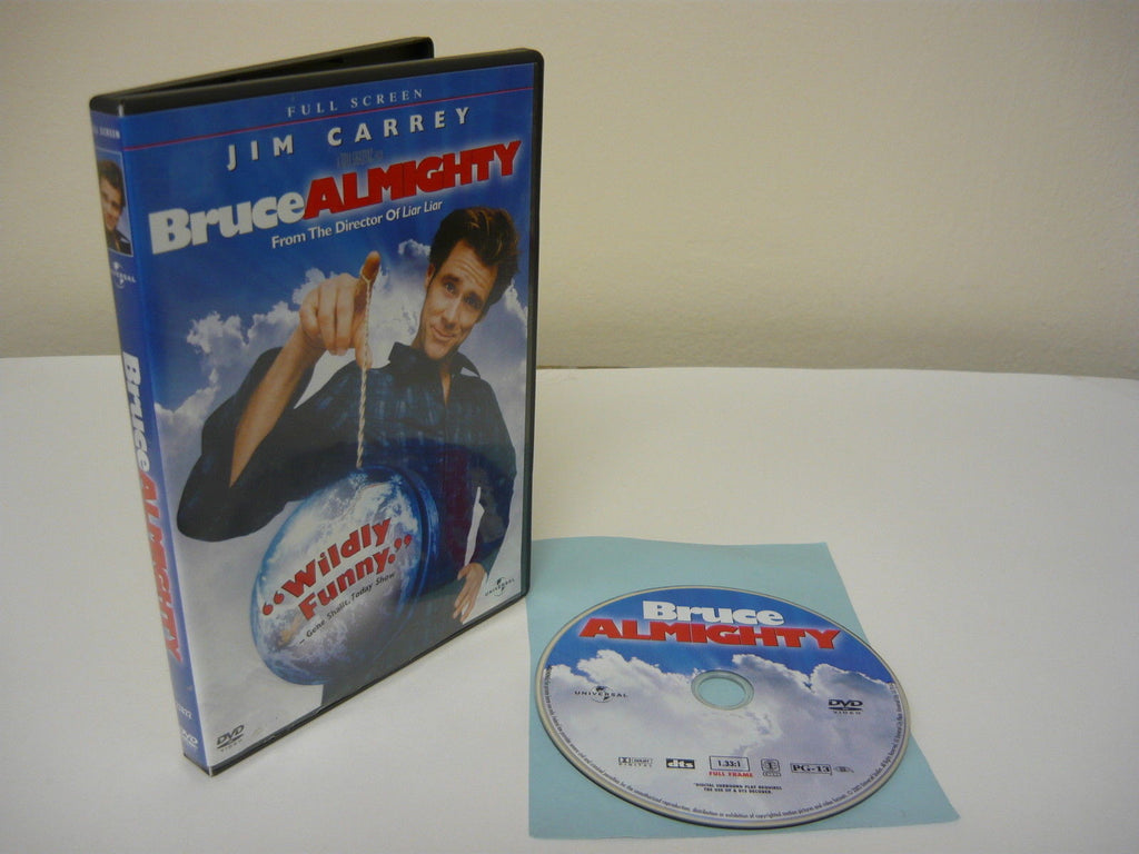 Bruce Almighty DVD (FULLSCREEN) Comedy Adventure Jim Carrey Morgan Freeman