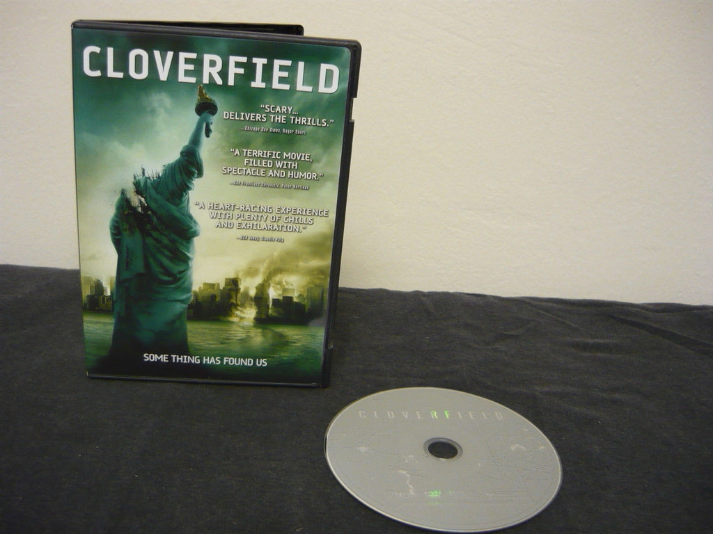 Cloverfield DVD (WIDESCREEN) Science Fiction Fantasy Michael Stahl-David