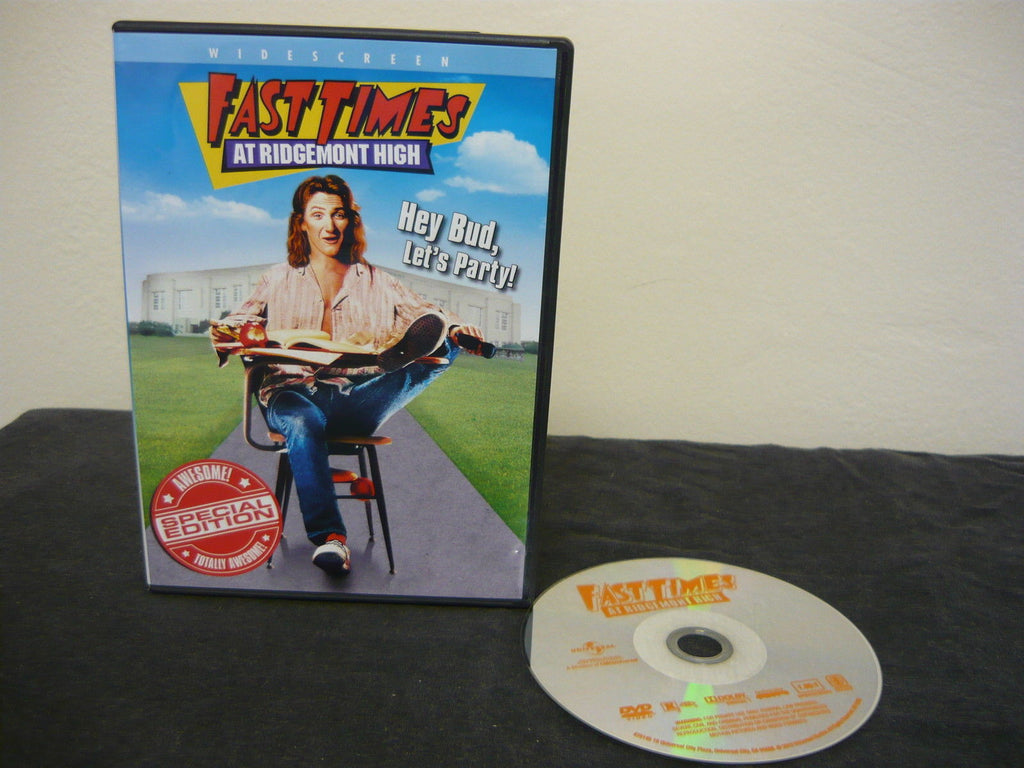 Fast Times at Ridgemont High DVD (WIDESCREEN) Special Edition Comedy Adventure