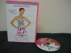 27 Dresses DVD (WIDESCREEN) Comedy Action Adventure Movie Katherine Heigl Sale